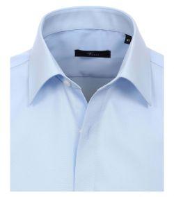 001480-102 Overhemden-Venti-modern-fit-licht-baby-blauw-overhemd-100%-katoen-strijkvrij
