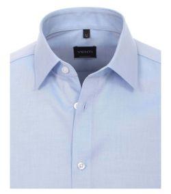 001480-115 Overhemden-Venti-modern-fit-licht-blauw-overhemd-100%-katoen-strijkvrij