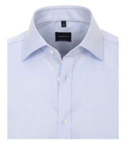 001800-102 Overhemden-Venti-modern-fit-licht-baby-blauw-overhemd-100%-katoen-strijkvrij