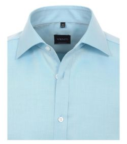 001800-150 Overhemden-Venti-modern-fit-licht-blauw-overhemd-100%-katoen-strijkvrij
