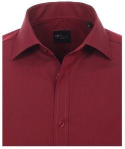 001800-403 Overhemden-Venti-modern-fit-rood-overhemd-100%-katoen-strijkvrij