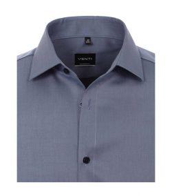 001880-100 grijs blauw antraciet kleurig venti overhemd strijkvrij