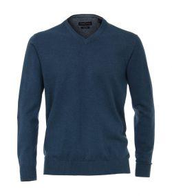 004430-153 casa moda pullover donker petrol kleur