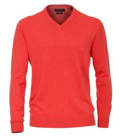 004430-402 trui-casa-moda-rood-100-katoen-pima-katoen v hals