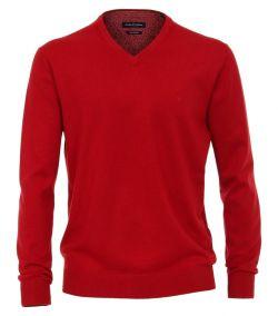 004430-444 trui-Casa-Moda-rood-100%-katoen-pullover-pima