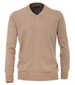 004430-616 casa moda pullover katoen pima regular fit beige