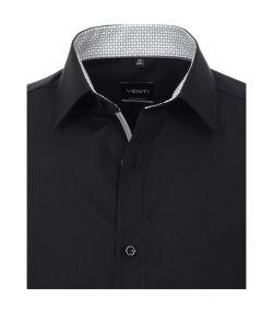 103412600-800 venti trendy zwart overhemd modern fit strijkvrij