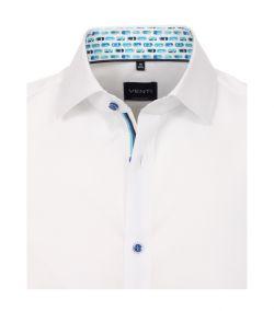 103458500-000 Venti wit overhemd strijkvrij 100% katoen modern fit