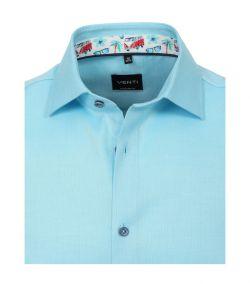 103458700-350 venti aqua fris overhemd oxford 100% katoen strijkvrij