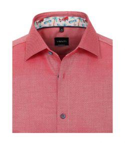103458700-404 venti roze oxford structuur overhemd strijkvrij