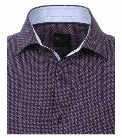 162436500-400-Overhemden-Venti-modern-fit-cirkels-rondjes-blauw-roze-paars-wit-overhemd-100%-katoen-strijkvrij