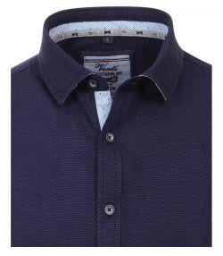 162608900-103-Overhemden-Venti-modern-fit-stippen-donker-blauw-overhemd-100%-katoen
