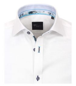 182910000-000 Overhemden-Venti-modern-fit-wit-aqua-blauw-camouflage overhemd-100%-katoen