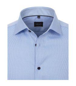 193295500-100 lichtblauw venti overhemd strijkvrij