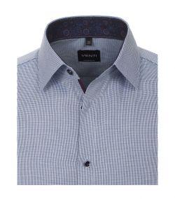 193318500-101 venti navy blauw oxford strijkvrij overhemd