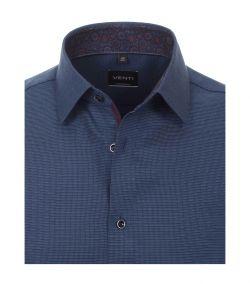 193318500-103 venti navy oxford overhemd strijkvrij