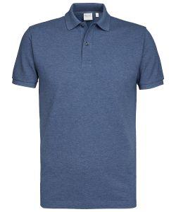 PMSJ100026 Michaelis polo jeans indigo kleur 100% katoen