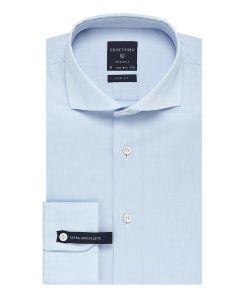 PP0H0A024 Profuomo lichtblauw extra lange mouwen mouwlengte 7 SL7  strijkvrij overhemd