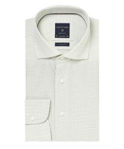 PPPH1A1061 profuomo lichtgroen overhemd dubby cutaway kraag slim fit pasvorm
