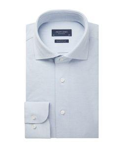 PPSH1A1061 Profuomo lichtblauw baby blauw overhemd knitted shirt