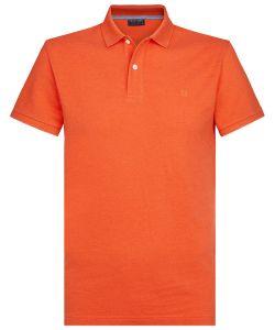 PPSJ1A0002 Profuomo rood oranje polo 100% katoen