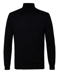 Profuomo zwart merino wol